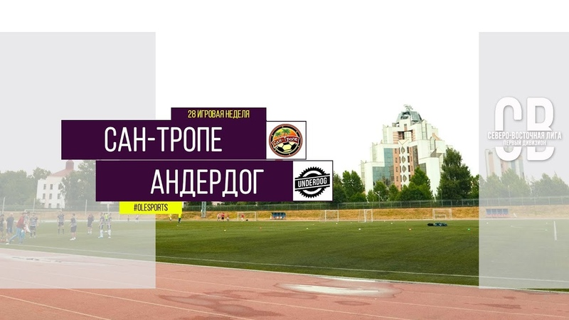 Общегородской турнир OLE в формате 8х8 XII сезон Сан Тропе Андердог