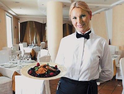 сервировка стола для ресторана фото