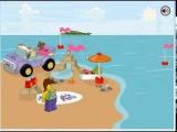 Лего Юниор игра - Серфинг ( Lego Juniors Surfer)