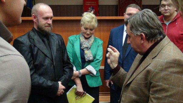 Николай Анатольевич Куреев встречает Жолобова Олега Владимировича