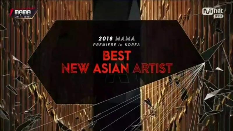 Best New Asian Artis Vietnam Orange @MAMA MNET 2018