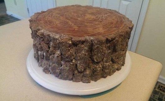 Девушка испекла торт для отца-лесоруба, прикольные картинки