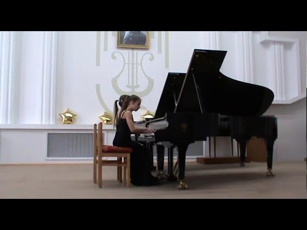 Фортепианный дуэт Рогатниковы Ева и Николь