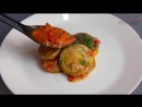 КАБАЧКИ тушеные с овощами и зеленью  Stewed zucchini