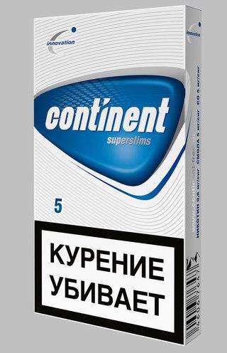 Отзывы о Сигареты Continent - Otzovik com