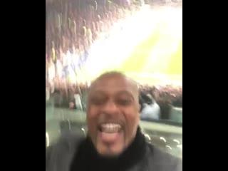 Реакция Эвра на финальный свисток «Юве» – «Атлетико»