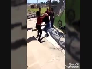 Two girls fighting by the skatepark  - YouTube