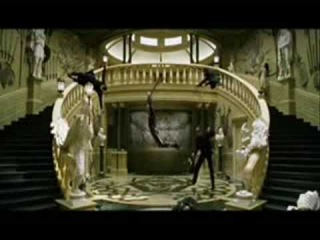 The Matrix Reloaded Vampire Chateau Fight Scene - Perfect Fight by Neo