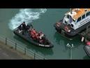 Мигранты в Дуврском проливе