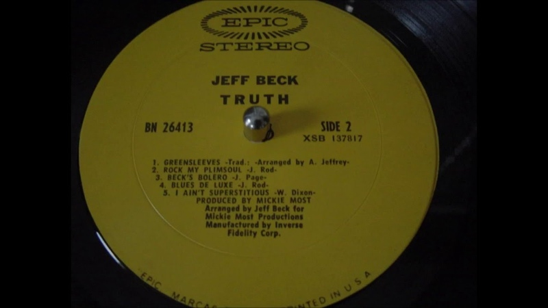 Jeff Beck Group, featuring Rod Stewart on vocals~~~I Ain't Superstitious (1968)