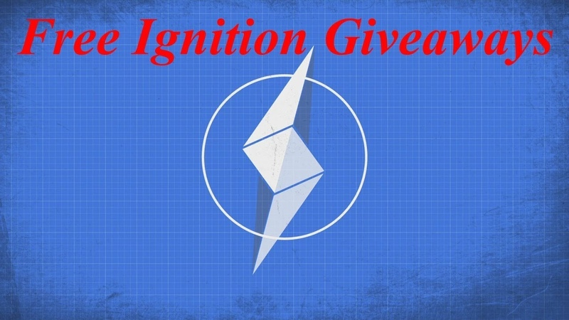 Free Ignition Coin - check the comment section for the latest giveaway