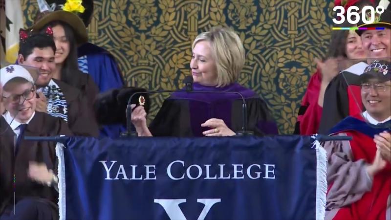 Речь Хиллари Клинтон на выпускном в Йельском университете