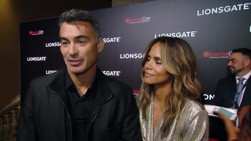 John Wick 3_ Halle Barry, Chad Stahelski interview at Lionsgate CinemaCon 2019