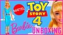 Toy Story 4 Mattel Barbie Doll Unboxing 360 Review | Disney Pixar