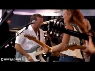 "Sheryl Crow Eric Clapton - ""Tulsa Time"" (Live, 2007) with Albert Lee Vince Gill -"