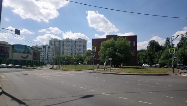 Коптево, местный советский урбанистический рай.  22 июня 2018