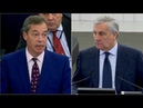 Watch Nigel Farage scolded after mocking EU's role in defeating Nazis