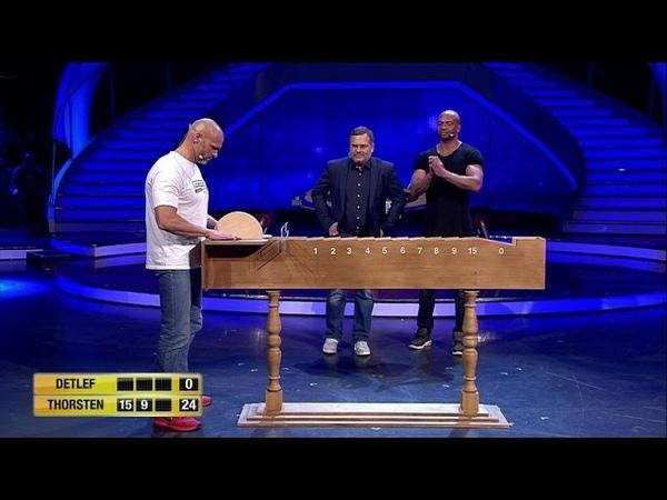 Spiel 14 - Der Mühlstein - Schlag den Star