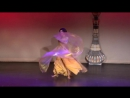 Haydee Belly Dancer in Houston Yearning with Isis Wings