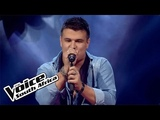 Marcel sings 'Push Me to the Floor The Blind Auditions The Voice South Africa 2016