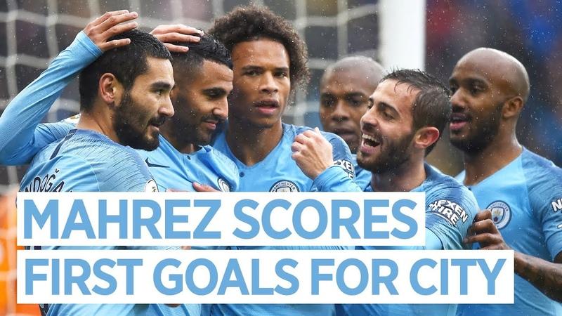 RIYAD MAHREZ SCORES A BRACE FOR CITY! | CARDIFF CITY FC v MAN CITY