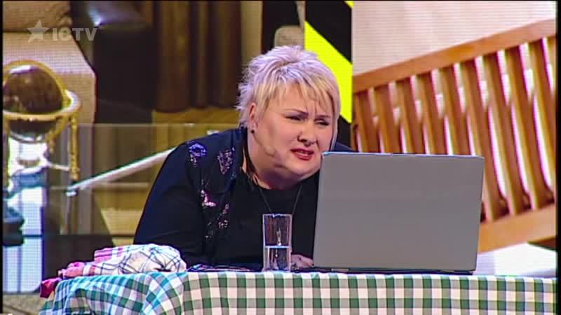 Мама за компьютером - полная история - все 3 части - самое обсуждаемое видео Дизель Шоу _ ЮМОР ICTV