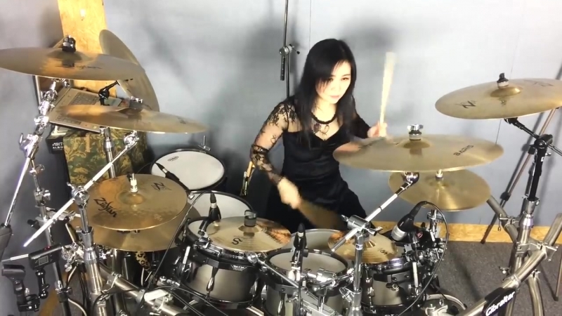 Iron Maiden - Hallowed be thy name drum cover by Ami Kim