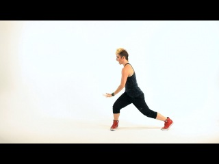 Side Snake Lunge Dance Move | Hip Hop Dance Workout