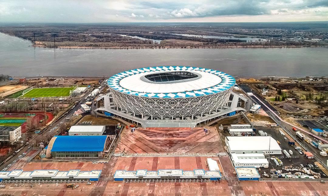 бросового материала картинка стадиона в волгограде установки односкатной кровли