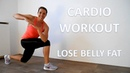 20 Minute Cardio Workout To Lose Belly Fat – At Home Calorie Burning Cardio