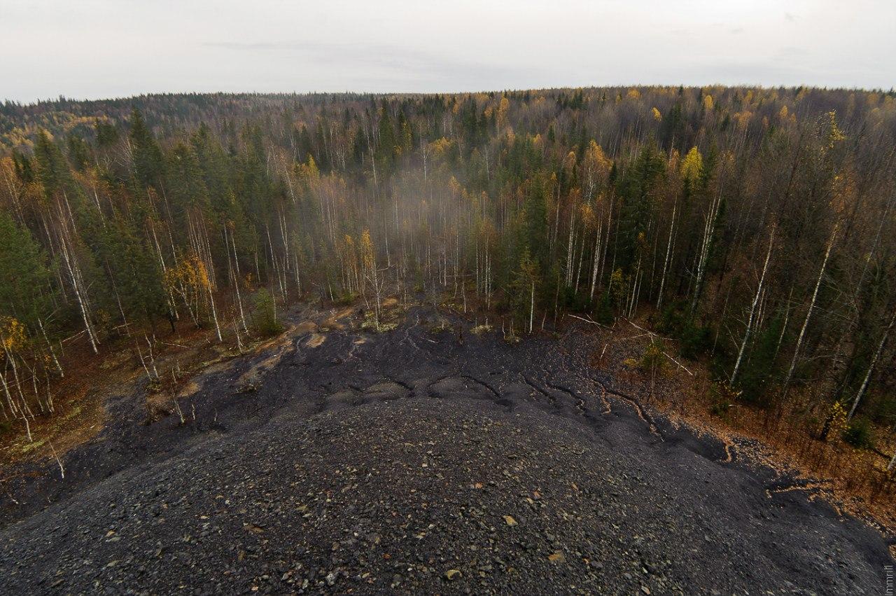 Отвал шахты Скальная-4