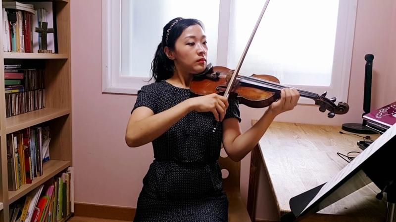 스즈키5권 협주곡 사 단조 2악장(비발디)Suzuki violin5 Concerto in g minor (A.Vivaldi)2nd mvt.바이올린 레슨 강사 446