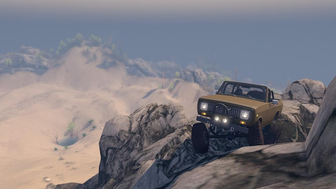 SID 1977 International Scout II Open Top 1.0 для Spintires - Скриншот 3