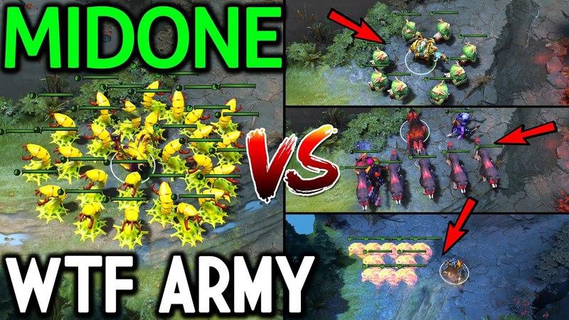 MidOne [Venomancer] WTF this Cancer Army 7.13 Dota 2
