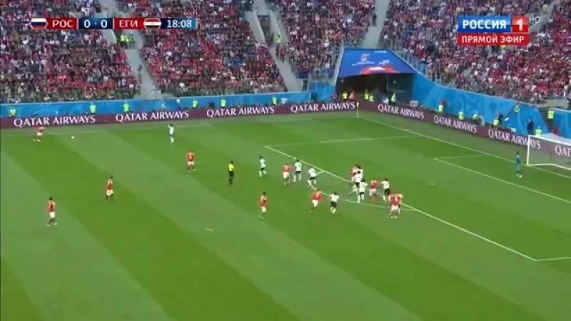 Чемпионат мира по футболу в России 2018🇷🇺⚽😆😀❤️😂💓 Россия Египет 3 1⚽🇷🇺😂❤️😀😆