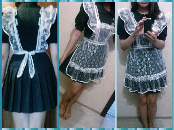 Платье в школьном стиле своими руками 19
