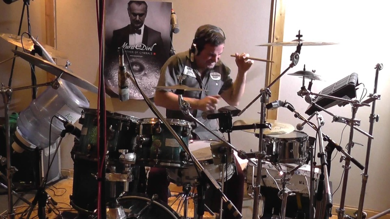 Oded Kafri studio recording -King of the Bongo by Manu Chao