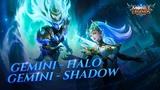 Karina &amp Selena new skins Gemini - Halo &amp Gemini - Shadow Mobile Legends Bang Bang!