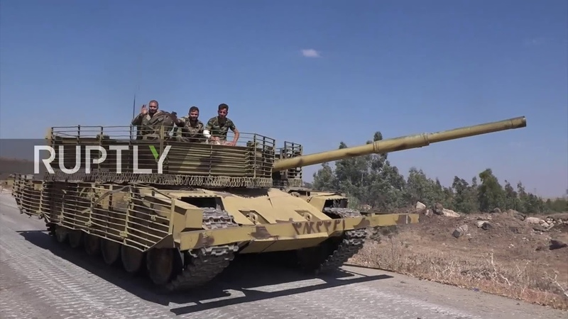 Syria SAA continues push into Yarmouk Basin to oust IS militants
