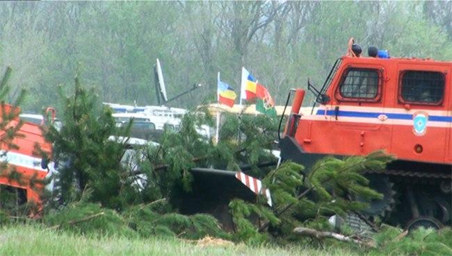В Ростовской области прошли крупномасштабные противопожарные учения