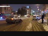 Skoda вылетела на «встречку» и столкнулась с Opel в центре Казани