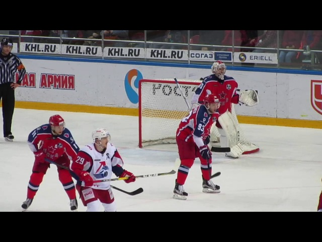 Goaltender Ilya Sorokin in action
