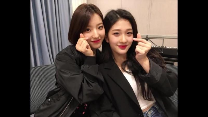 180618 Fromis_9 Saerom Seoyeong @ Radio Love FM