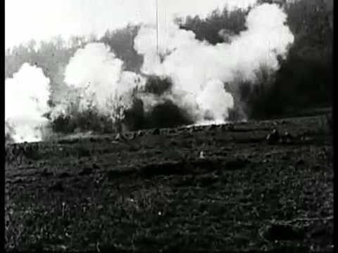 Meuse-Argonne Offensive (WWI Silent Film)