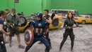 The Avengers Behiind the scenes
