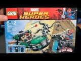 Обзор и сборка LEGO Marvel Super Heroes 76004 Ultimate Spider-man от Hodgepodgedude