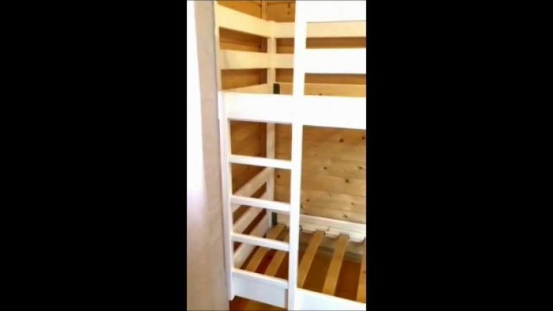 Двухъярусная кровать Кадет от ВМК-Шале