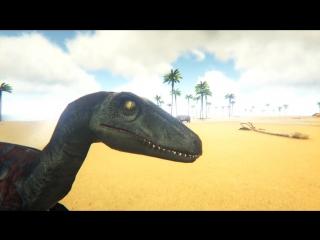 [Muzzloff Play] РАПТОРЫ И АКРОКАНТОЗАВР - Парк Динозавров - ARK Survival Evolved #2