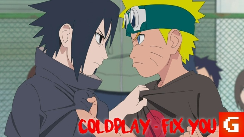Naruto Sasuke「AMV」Coldplay - Fix You!
