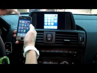 Видеоинтерфейс SMI IPAS для BMW F20-F30 серии. Перенос картинки и звука с Iphone на монитор BMW.
